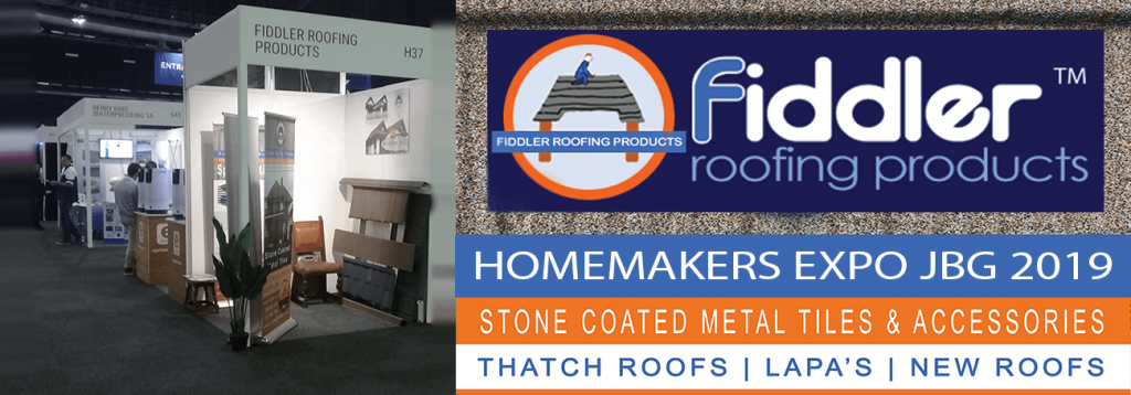 Harvey Tiles_Competitor_SA's Leading Thatch Tile Solution_Fiddler Roofing Products_Johannesburg expo